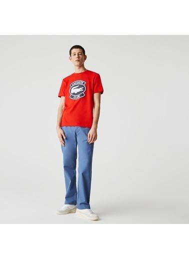 Lacoste Erkek Regular Tişört TH1786.F8M Kırmızı